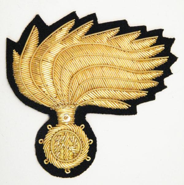 Fregio Berretto uomo Marescialli e Ufficiali tipo C Carabinieri 87ff2b5305b7