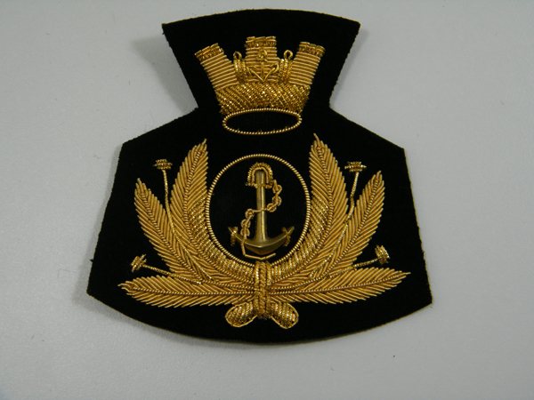 Fregio berretto ricamato Marina Militare 1d540716ba55