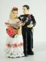 Statuetta Carabiniere sposi