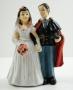 Statuetta Poliziotto sposi