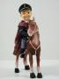 Statuetta con Poliziotto a cavallo
