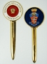 Tagliacarte paletta in metallo Carabinieri