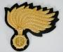 Fregio Berretto uomo Marescialli e Ufficiali tipo B Carabinieri