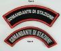 Toppa Comandante di stazione Carabinieri